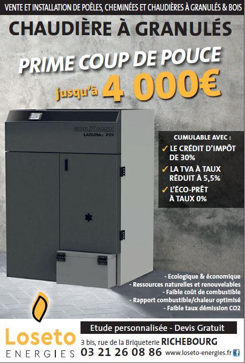 PRIME COUP DE POUSSE